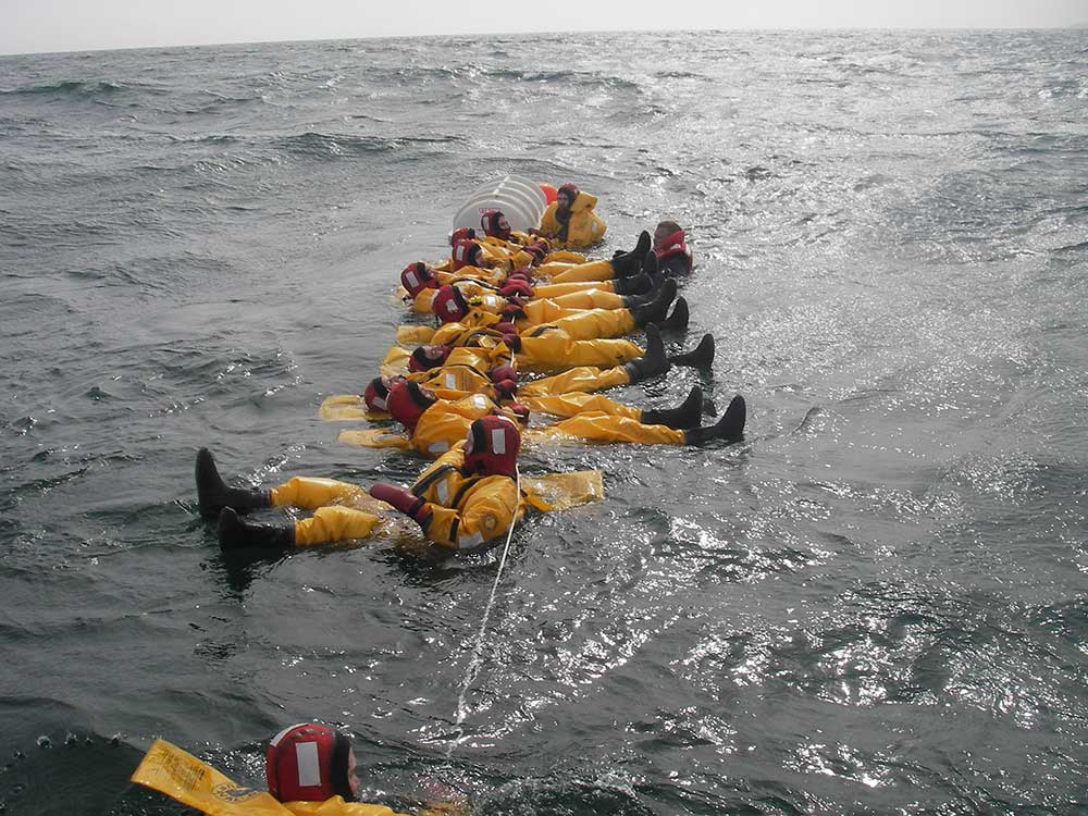 Ship Boarding And Cold Water Survival Course