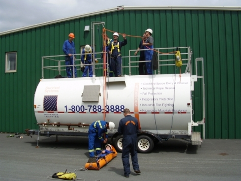 Confined Space Technical Rescue