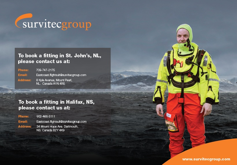 Survitec Group Suit Fittings